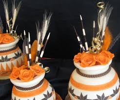 sugarcraft by soni traditional african pots wedding cake