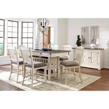 Informal Dining Room Signature Design By Ashley Bolanburg Casual Dining Room Group