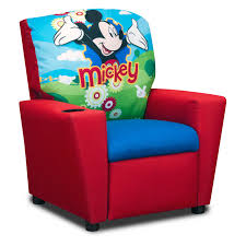 Childrens Faux Leather Armchair Disney Minnie Mouse Cuddly Cuties Kids Recliner Hayneedle