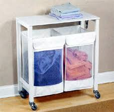 Laundry Sorter With Folding Table Her Laundry Sorter With Folding Table In Home Decor