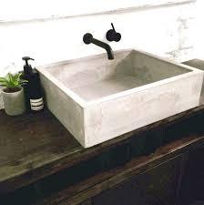 how to build a concrete sink diy concrete sink best ideas about concrete sink on bathroom basin