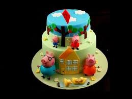peppa pig and george in fondant tutorial tutorial come fare