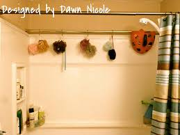 How To Install Shower Curtain Simple Shower Organization Tip Poufs Swimsuits And Toy