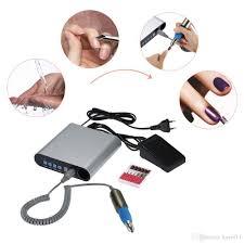 100 240v led screen professional electric nail drill machine nail