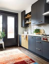 blue kitchen cabinets toronto 30 moody kitchens that are totally dreamy house home