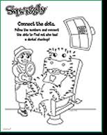 free kid u0027s dental coloring sheets activities and charts