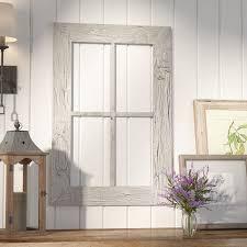 laurel foundry modern farmhouse rustic window frame wall décor