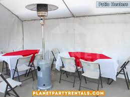 party rentals san fernando valley outdoor patio heaters partyretanls canopy tents chairs tables