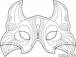 bat mask templates children mask template halloween pinterest