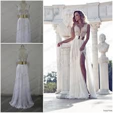 sle wedding dresses dreamybridal real sle 2014 v neck embroidery beaded gold
