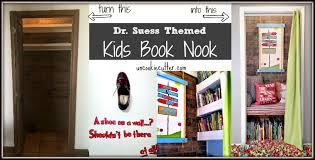 kids book nook dr suess accessories uncookie cutter