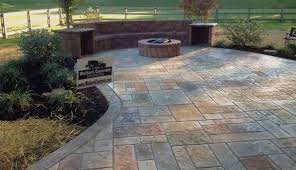 flagstone patio on walmart patio furniture with best stamped