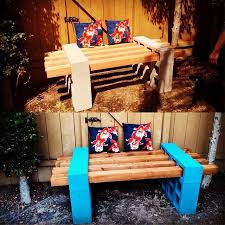 cinder block bench picmia