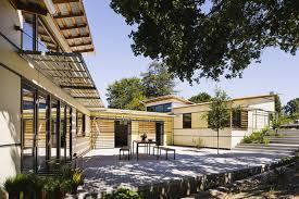 house with courtyard high performance courtyard house arkin tilt architects