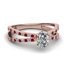 ruby engagement rings 18k rose gold red ruby engagement rings fascinating diamonds