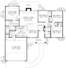 2 Story House Plans With Master On Main Floor 121 Best Houseplans 3 Bedroom Images On Pinterest Small House