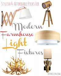 Farmhouse Light Fixtures by 10 Affordable Modern Farmhouse Light Fixtures A Style Round Up