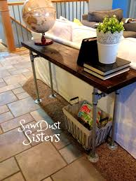 Sofa Table Dimensions Furniture Delectable The Easiest Diy Reclaimed Wood Sofa Table