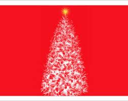 Red Gold And Purple Christmas Tree - christmas tote white christmas tree gold star on red or purple