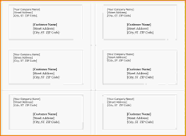 7 avery label templates 5163 letter template word