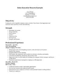 Executive Resumes Samples Free Resume Sales Executive Resume Samples