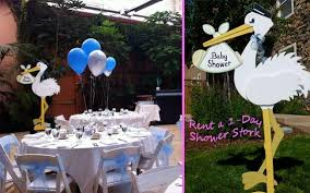 stork baby shower decorations stork themed baby shower inspiration zukünftige projekte