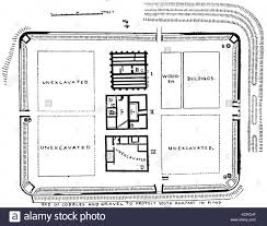 roman fort black and white stock photos u0026 images alamy