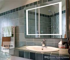 Decorative Mirrors For Bathrooms by Ul Ce Led Lighting Anti Fog Bathroom Mirror Wall Mounted Touch