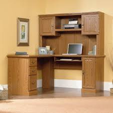 Sauder Harbor View Computer Desk With Hutch Salt Oak by Printer Computer Desk Kmart Com Mission Oak Corner Computerwriting