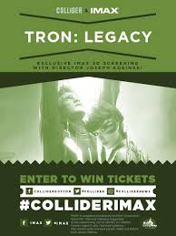 tron legacy free tickets exclusive imax screening collider
