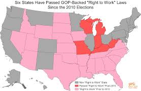 Missouri Compromise Map Activity Voter Suppression And Anti Union Laws Work In Tandem When The Gop