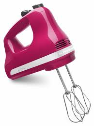 Cranberry Island Kitchen Kitchen Aid Ultra Power 5 Speed Hand Mixers Cranberry Khm512cb