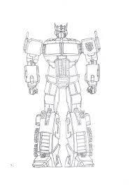 coloring pages cool transformers optimus prime coloring pages