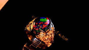 matrix opal ring big man u0027s solid 14k gold australian opal ring 10931m youtube