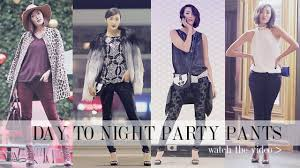 day to night party transformation youtube