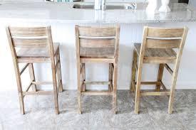 unfinished wood kitchen island furniture oak wood bar stools with backs on lowes tile flooring