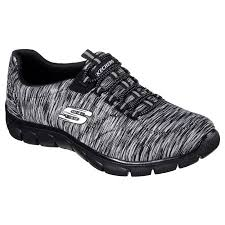 Skechers Comfort Construction Skechers 12414 Bkcc Women U0027s Relaxed Fit Empire Game On Walking