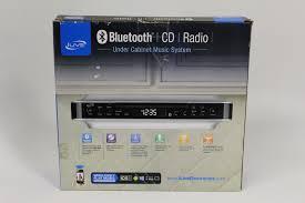 Radio Under Kitchen Cabinet Sony Under Cabinet Cd Player With Bluetooth Monsterlune