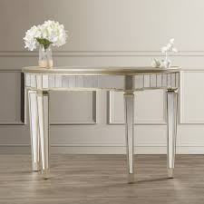 console table chairs diy mirrored coffee table mirrored console