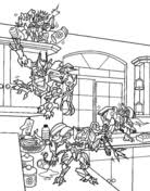 megatron coloring pages transformers coloring pages free coloring pages