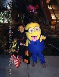 Despicable Minion Costume Evil Minion Costume Despicable Kid Child Size Homemade 4t 5t 4