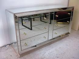 Mirrored Glass Nightstand Dressers Vanity Dresser With Mirror And Chair Dresser Mirror And