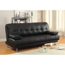 faux leather futons for less overstock com