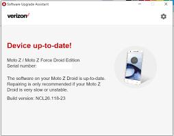 solved broken moto z force droid since ncl26 118 23 update