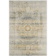 Brown And Blue Area Rug by Amazon Com Safavieh Evoke Collection Evk220c Vintage Oriental