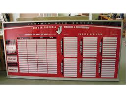 board gallery sample custom boards schoolpride