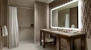 led mirrors contemporary bathroom illuminated led mirrors