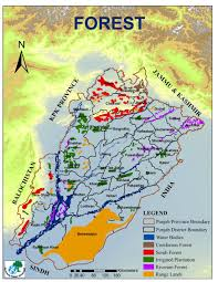 Punjab Map Locality Maps Forest Wildlife U0026 Fisheries Department
