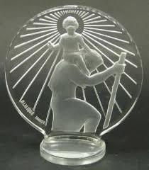 rene lalique christophe ornament 8417 rlalique