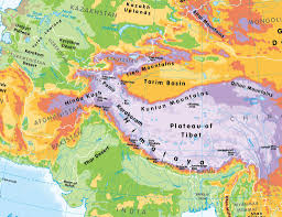 South Asia Physical Map Pysical Map Of Asia You Can See A Map Of Many Places On The List